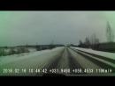 Леха валит под 150 км ч зимой