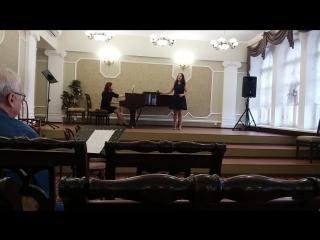 Карина Ревко - Паизиелло - ария цыганки из оп. Цыгане на ярмарке 20180511