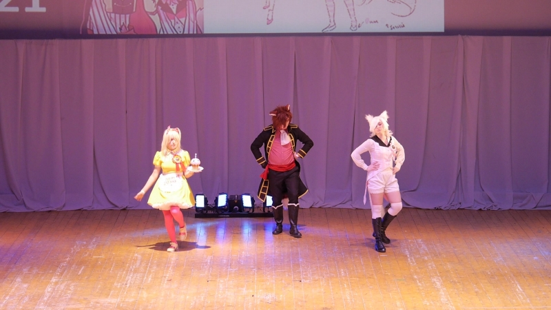 1.21. Garik gog, Чарли Браун, АлиСиДишка - Niji Shiru - Five Nights at Freddys 2 - Чика, Мангл, Фокси