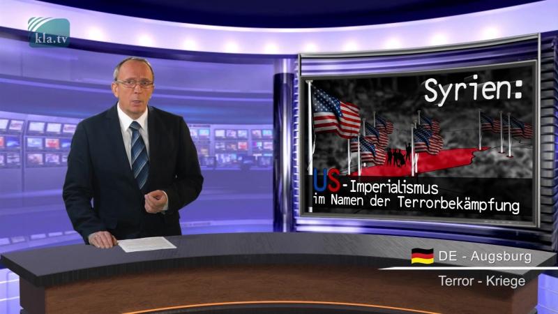 Syrien US-Imperialismus im Namen der Terrorbekämpfung