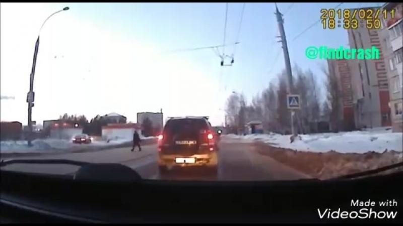 Идиоты на дороге 11 02 2018 Рыбинск