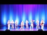 Выступление образцового коллектива Ансамбля Народной музыки