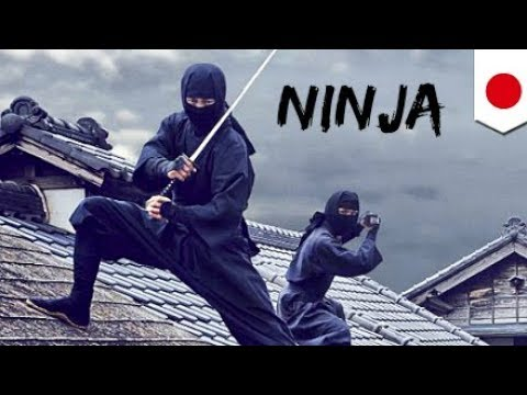 WEIRDEST Video of Real Ninjas Training Inside ACTUAL Dojo Ninjutsu Japanese Martial Arts Spar
