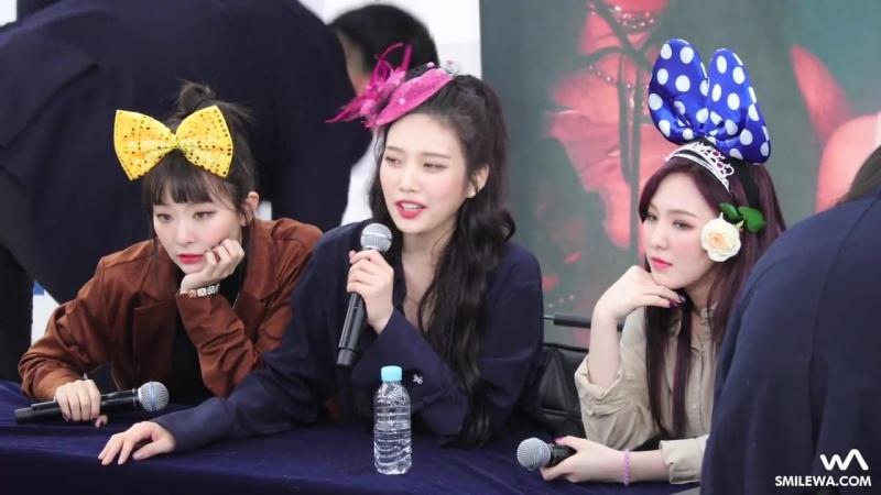 180202 레드벨벳 Red Velvet 슬기 조이 웬디 4K 직캠 @영등포 팬사인회 4K Fancam by wA