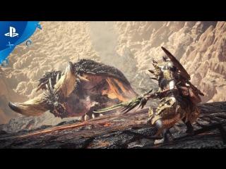 Monster Hunter: World - PSX 2017: Third Fleet Trailer   PS4