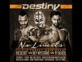 Rey Mysterio vs Ricochet vs PJ Black (Justin Gabriel)─DWW No Limits 2015