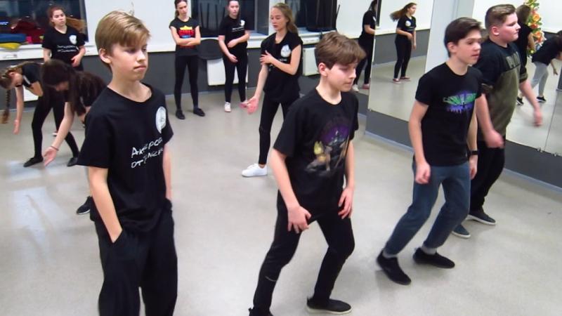Танец к батлам - одна из восьмёрок для мальчиков.