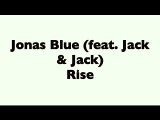 Jonas Blue (feat. Jack Jack) - Rise/7DANCE #Rise #dance #jonasblue