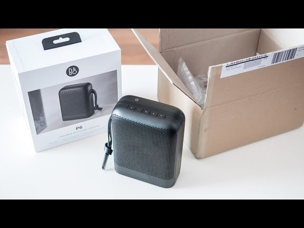 BO Beoplay P6 - unboxing first impressions [3D binaural audio]