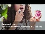 Розовый сад: весенняя коллекция Dolce & Gabbana