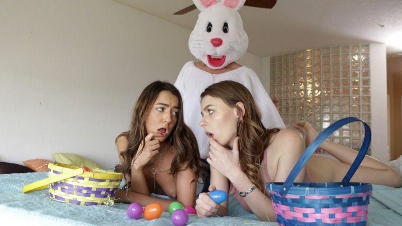 Alex Blake and Lily Adams Creampie Surprise All Sex, Hardcore, Blowjob, Threesome, Incest, Easter