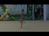 Пруцкова Кристина художественная гимнастика 6 лет