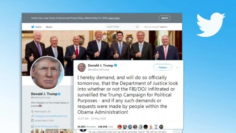 Spionageverdacht- Donald Trump befürchtet FBI-Maulwurf in seinem Wahlkampfteam