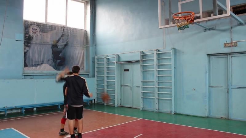 [Баскетбол]-Персональная защита(block shot,выбивание,контроль)