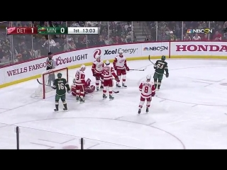 Detroit Red Wings vs Minnesota Wild March 4, 2018 HIGHLIGHTS HD