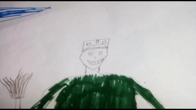 мой рисунок VS рисунок моего 2-ух летнего брата