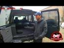 Полный обзор автомобильного спальника для Toyota Prado 78 с центральной извлекаемой консолью и четырьмя открывающимися ящиками