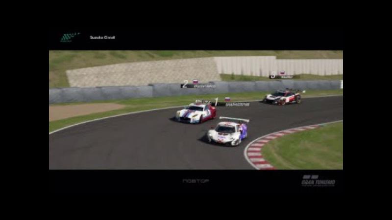 Gran Turismo Sport [online battle. Overtake in hairpin]