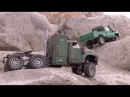 6X6 vs 4X4 lets crawl Scale Town - RC CWR