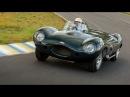 1957 Jaguar D-Type on Track