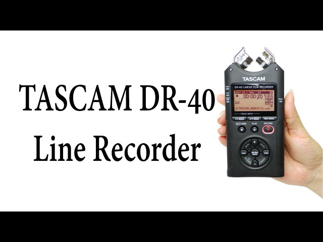 Железный Обзор: TASCAM DR-40