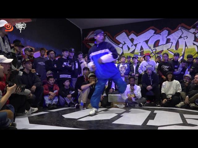 Footwork Semi | Trice VS Rick Joe @ Dragonstyle 11th Anniversary | LB-PIX