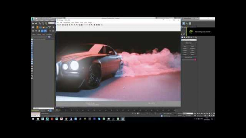 How to render Phoenix FD in 3ds max RedShift