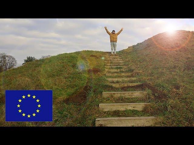 Кернаве Kernavė Европейская деревня