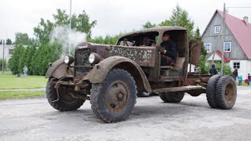 Russian Truck Ural ZIS 5 Rat Style 1080p