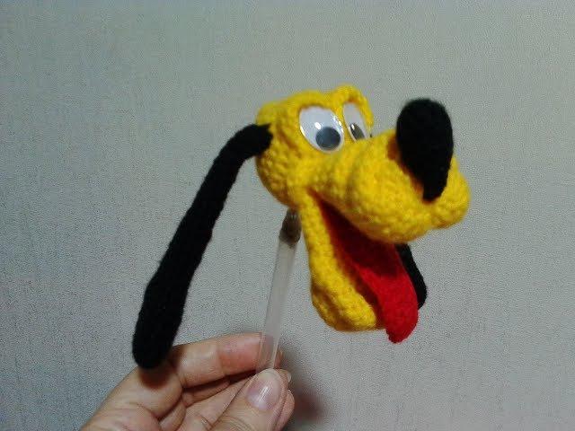 Веселый пес Плуто! ч.2. Cheerful dog Pluto! р. 2. Amigurumi. Crochet. Игрушки крючком.