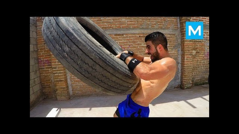 CRAZY BOXING WORKOUTS - Chuy Almada   Muscle Madness