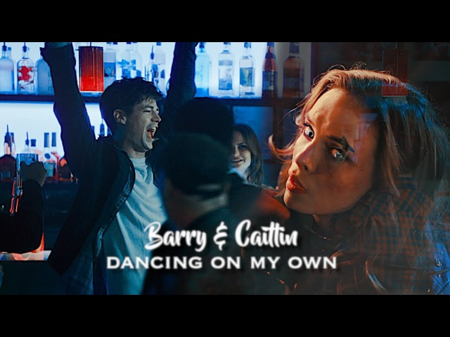 The Flash ϟ Barry Allen and Caitlin Snow ϟ Dancing on my own.