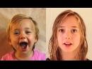 На видео - Лотте Хофмеестер. Её отец - голландский режиссер Франс Хофмеестер - еженедельно снимал дочь с рождения до ее 18 летия