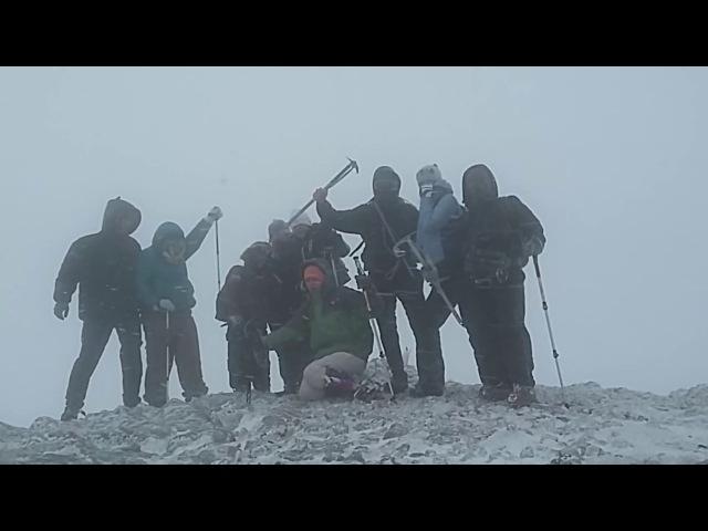 Восхождение на Ангар-Бурун (2018)