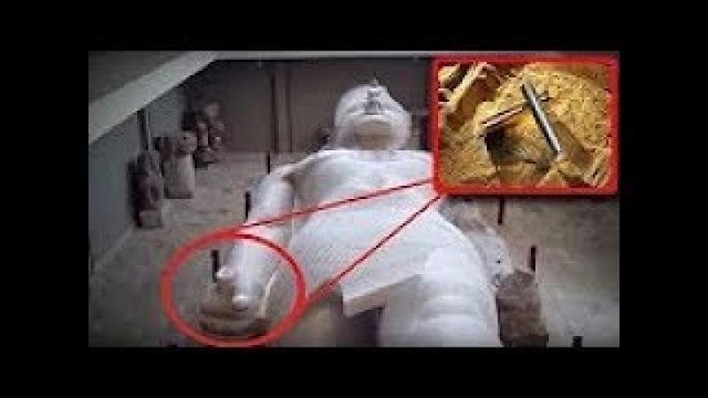 Египтологи обомлели.Как ЭТО могло оказаться в руках у ФАРАОНА. Территория загадок