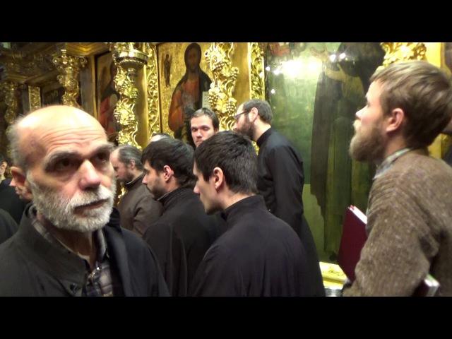 Молебен прп.Паисию Святогорцу - Служба в ТСЛ ч.14 (б)