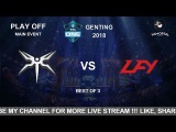 MINESKI vs LGD.FY LB Bo 3 Main Event ESL One Genting 2018
