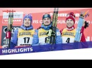 Poltoranin prevails in a four-way finish in Val di Fiemme Men's MST | Highlights