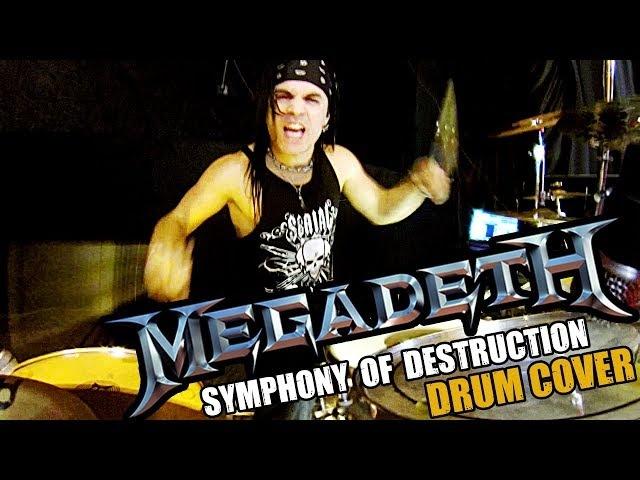 MEGADETH - SYMPHONY OF DESTRUCTION - DRUM COVER - FRANKY COSTANZA