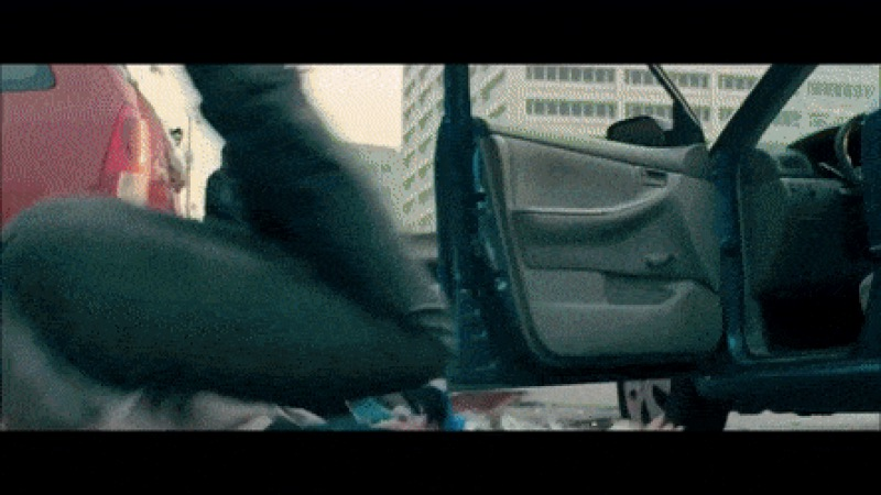 Baby Driver (2017) Best Scene | Police Chasing Scene, Death Of Bats - Create, Discover and Share GIFs on Gfycat