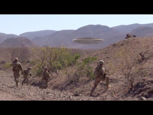 US Marines made contact with UFO fleet in SOMALIA February 2018