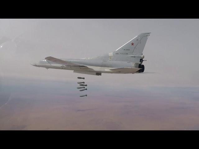 Дождь из бомб: Массированный налёт ВКС РФ уничтожил силы ИГИЛ в котле