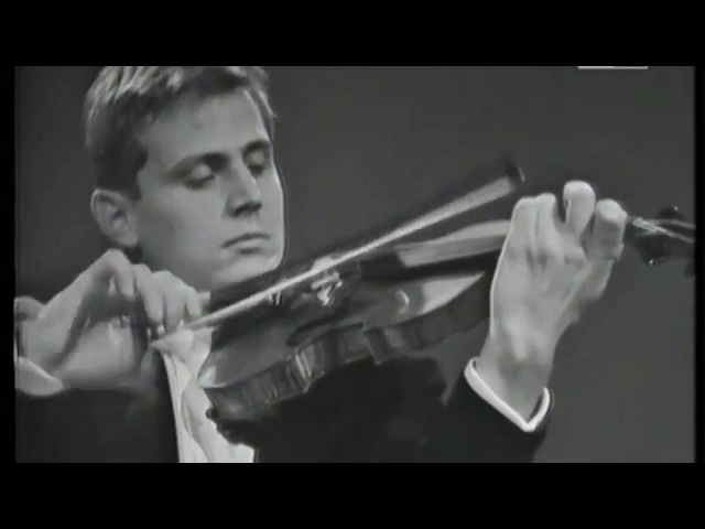 Uto Ughi plays Perpetuum mobile by Franz Ries 1968