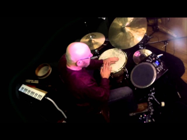 World Percussionist Tom Teasley Performs Groove Meditation