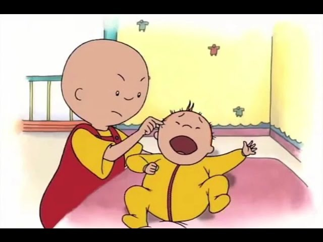 Funny Animated cartoon for Kids | Cartoon Caillou | Caillou's grounded | Cartoons for Children