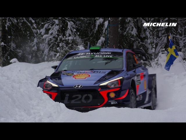 Shakedown 2018 WRC Rally Sweden Michelin Motorsport