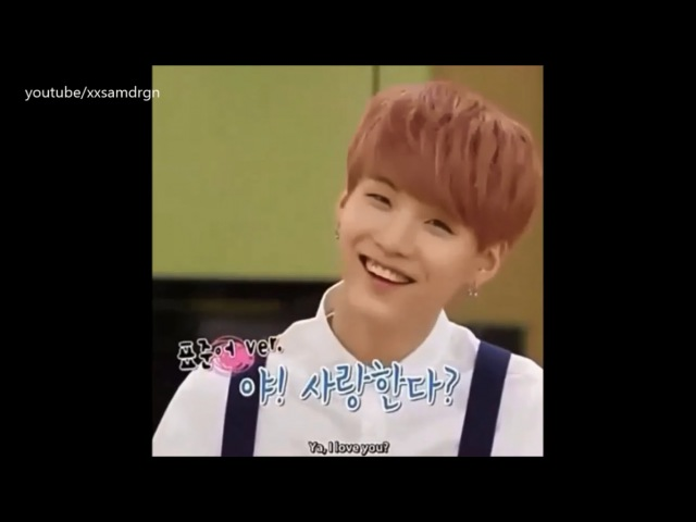 BTS SUGA cute and funny moments compilation
