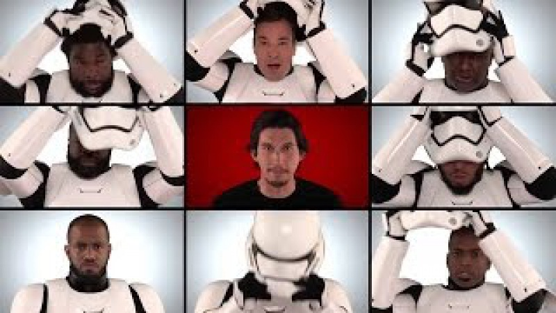 Star Wars Cast Sings A Cappella Medley- Jimmy Fallon roots and star wars: the force awakens