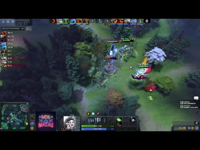 JerAx neutral creep denie (TNC vs OG) | DotA 2 Gameplay | DotA 2 Highlights