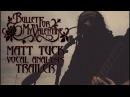 BULLET FOR MY VALENTINE - WAKING THE DEMON VOCAL ANALYSIS TRAILER MATT TUCK